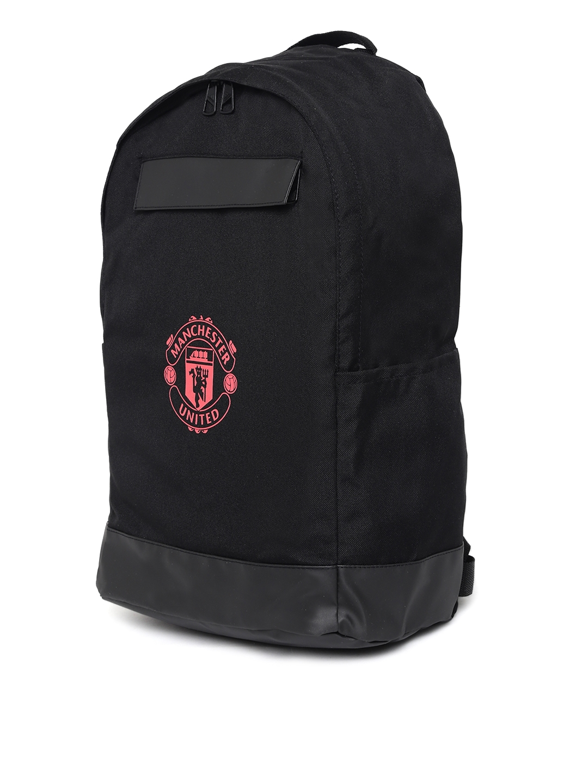 Buy ADIDAS Unisex Black Manchester United FC BACKPACK - Backpacks ... a1494fc3f6ab8