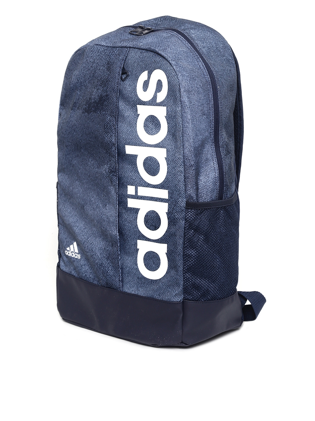 17f1fd68a0a3 Buy ADIDAS Unisex Navy Blue LIN PER Brand Logo Backpack - Backpacks ...