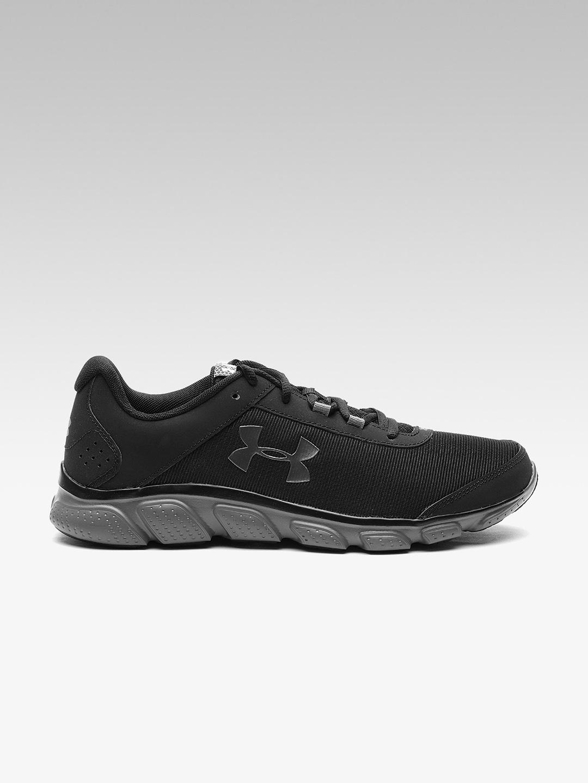 Buy UNDER ARMOUR Men Black Micro G Assert 7 Running Shoes - Sports ... bd9d78fd9cb