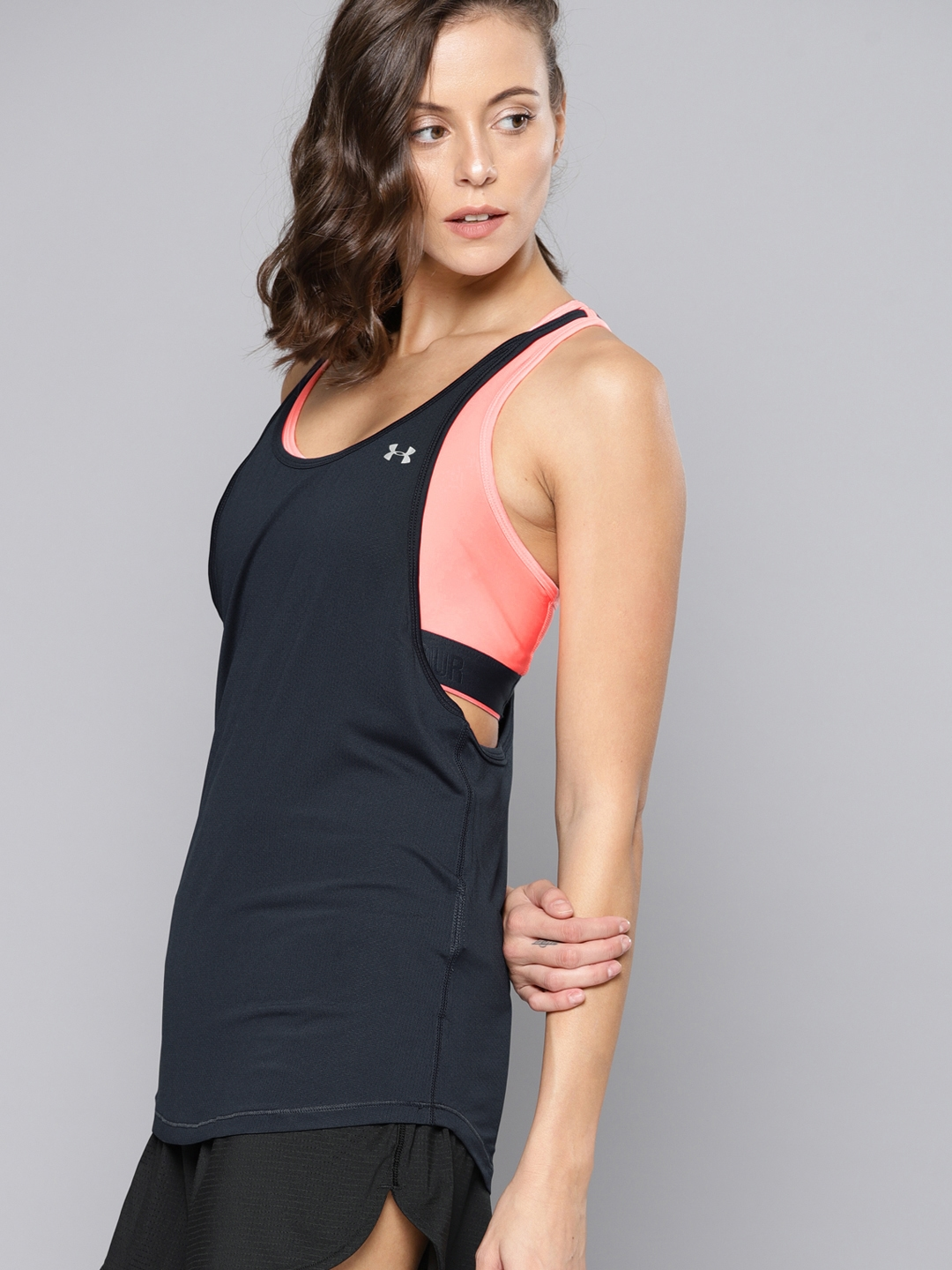 Pick SZ//Color. Under Armour Womens Flashy 2-in-1 Tank Top