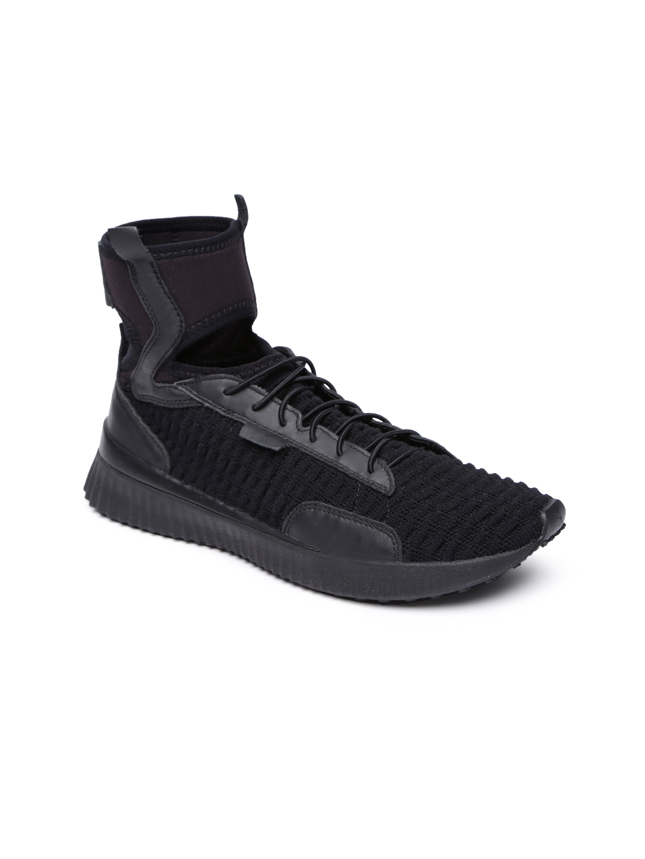 Buy Puma Black Women Fenty Trainer Mid Top Trainer Shoes - Sports ... e6c3fe21b