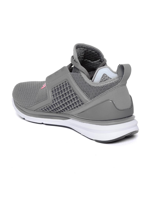 fb85259cae60 ... Buy Puma Men Grey Ignite Limitless Weave Running Shoes - Sports ... new  arrive . ...