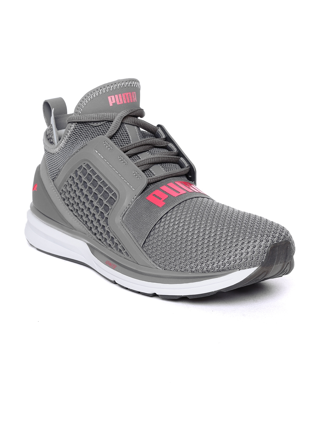d23bbca3c96ea0 Buy Puma Men Grey Ignite Limitless Weave Running Shoes - Sports ...
