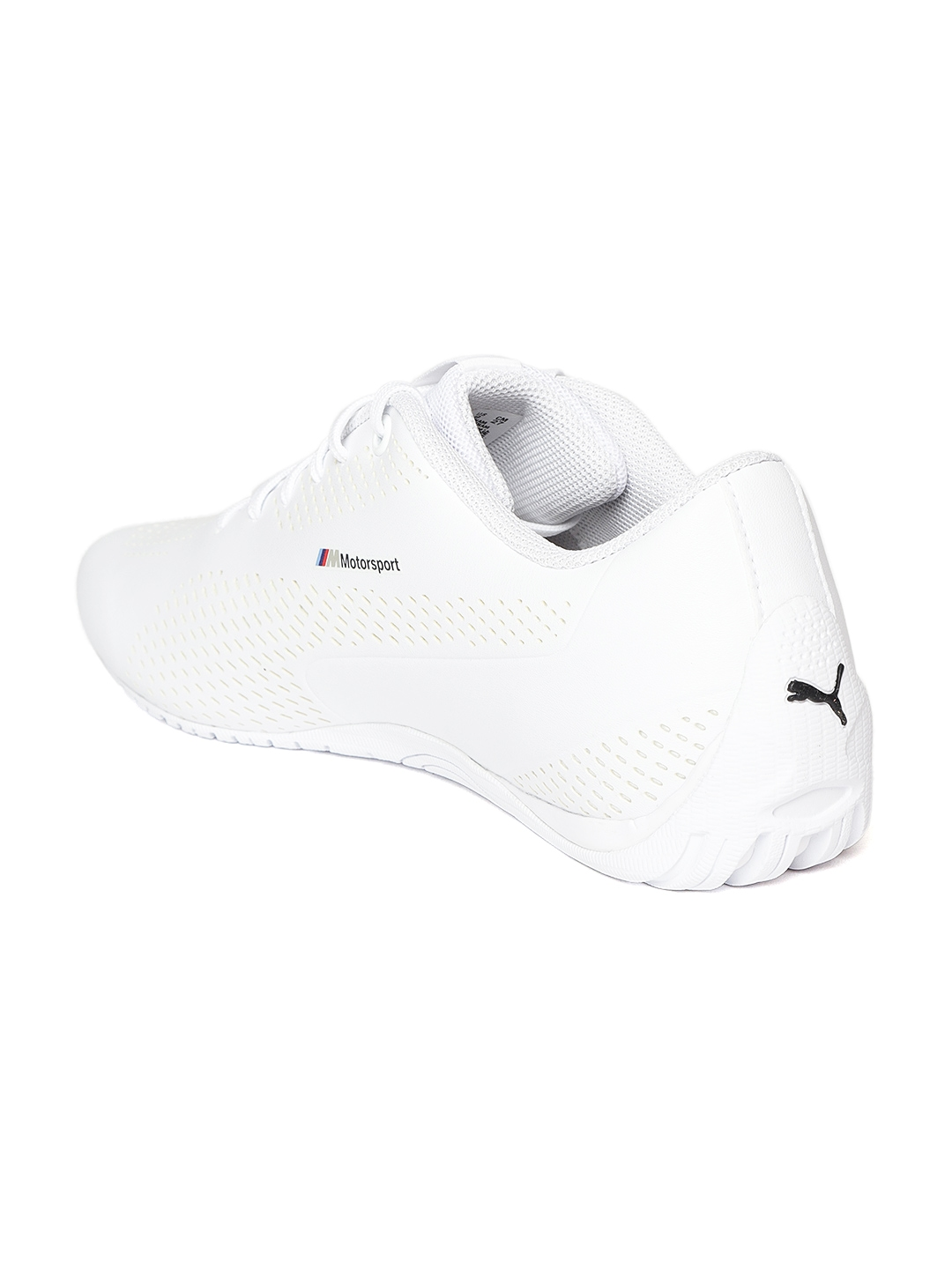 Buy Puma Unisex White BMW MMS Drift Cat 5 Ultra II Walking Shoes ... 863b2cb06