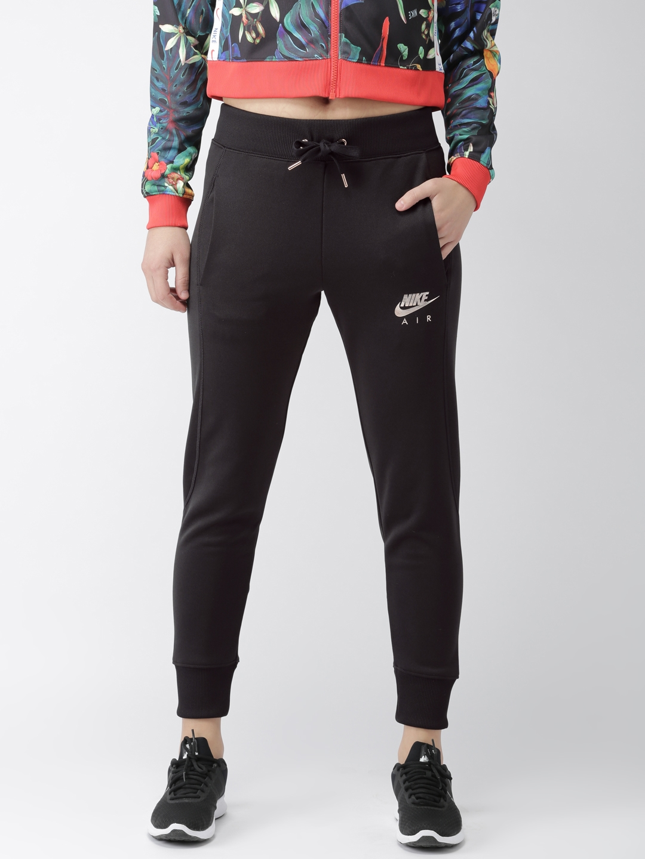 c146e9f61d Buy Nike Women Black Solid AIR PK Joggers - Track Pants for Women ...