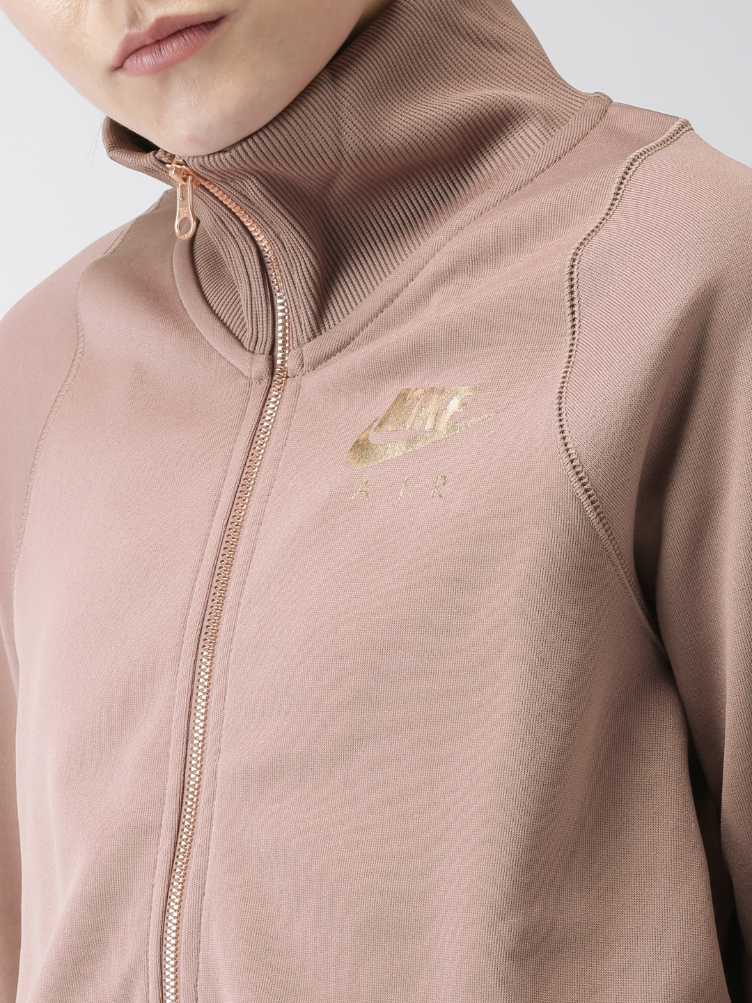 53ea73ce Buy Nike Women Mauve AS AIR N98 PK Solid Sporty Jacket - Jackets for ...