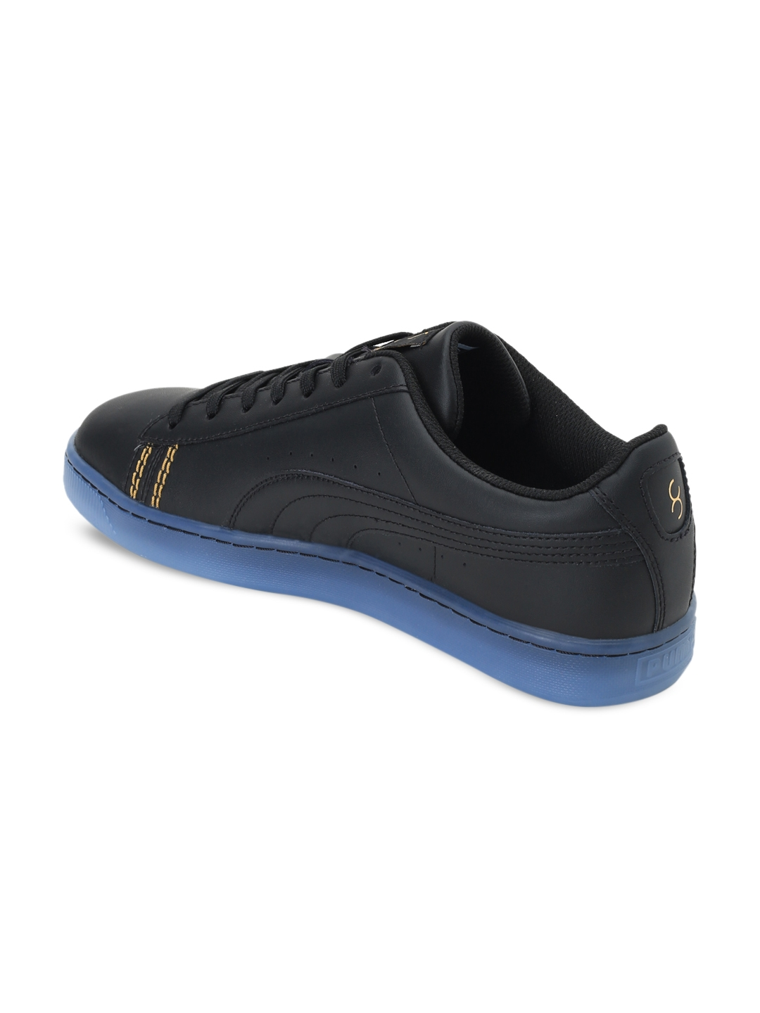 Buy Puma Unisex Black Basket Classic One8 Sneakers - Casual Shoes ... 5f8105556