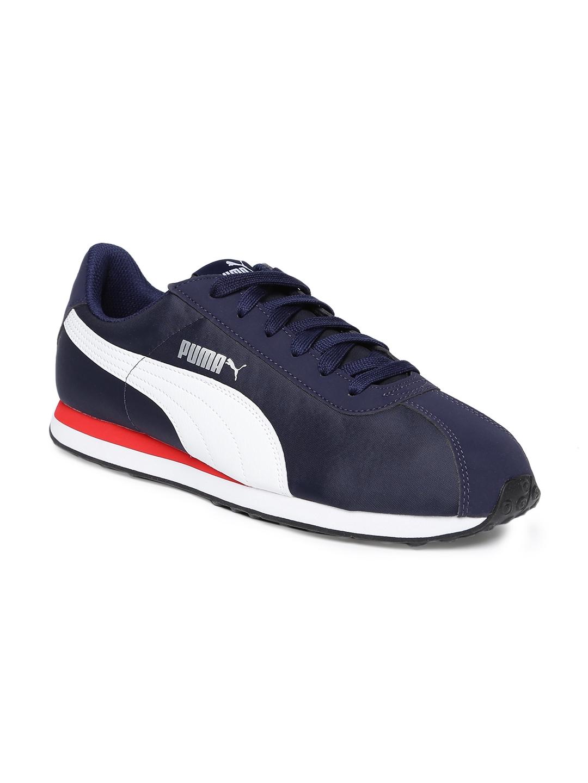 cef712dd9b7b Buy Puma Turin Nl Peacoat Puma White Navy Blue Sneakers - Casual ...