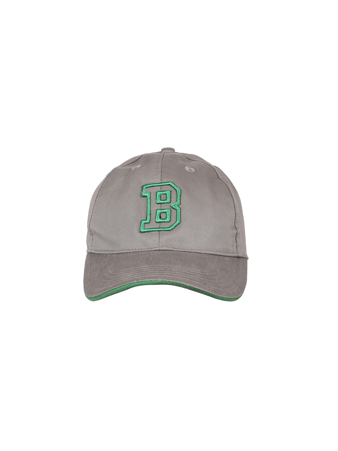 Buy United Colors Of Benetton Unisex Grey Embroidered Baseball Cap ... 3e741cc81ec