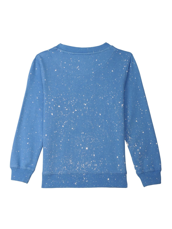 134ad05eb350 Buy Captain America By Kidsville Boys Blue Printed Sweatshirt ...
