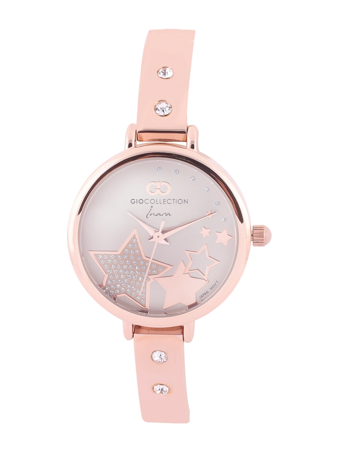 GIO COLLECTION Women Pink Analogue Watch