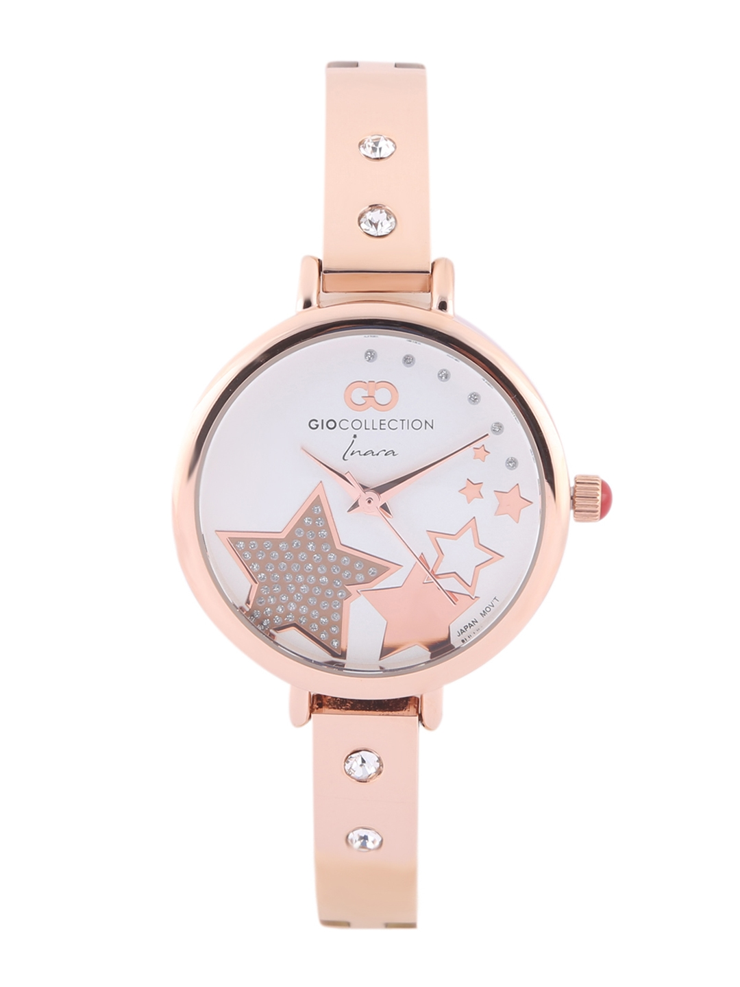 GIO COLLECTION Women Rose Gold Analogue Watch G2123 44
