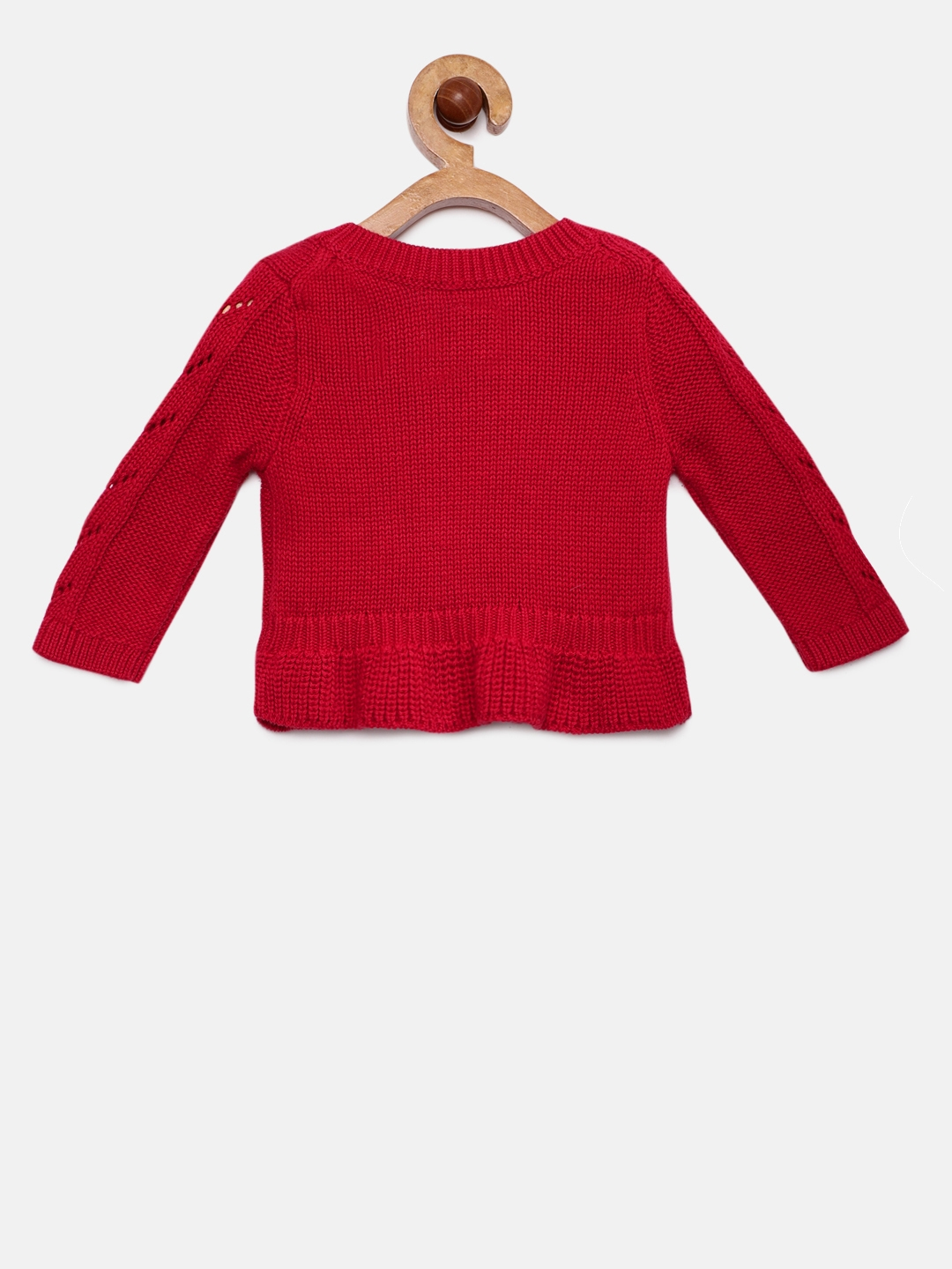 eae440d9d Buy GAP Baby Girls  Cable Knit Peplum Sweater - Sweaters for Girls ...