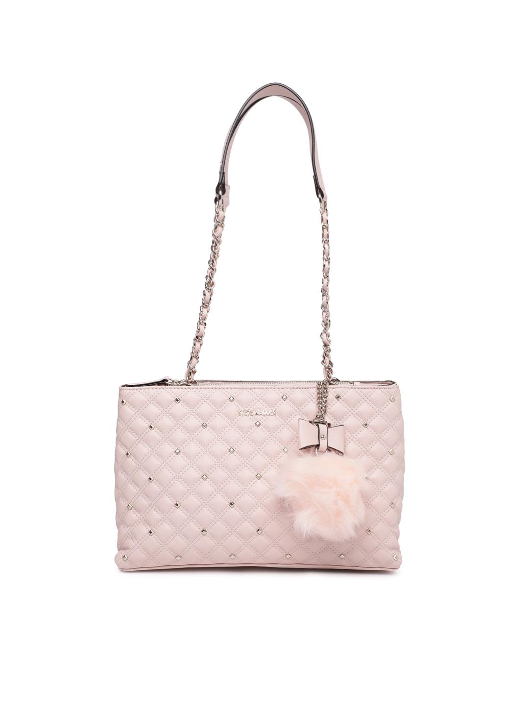 cfb49fe049fa Buy Steve Madden Pink Textured Shoulder Bag - Handbags for Women ...