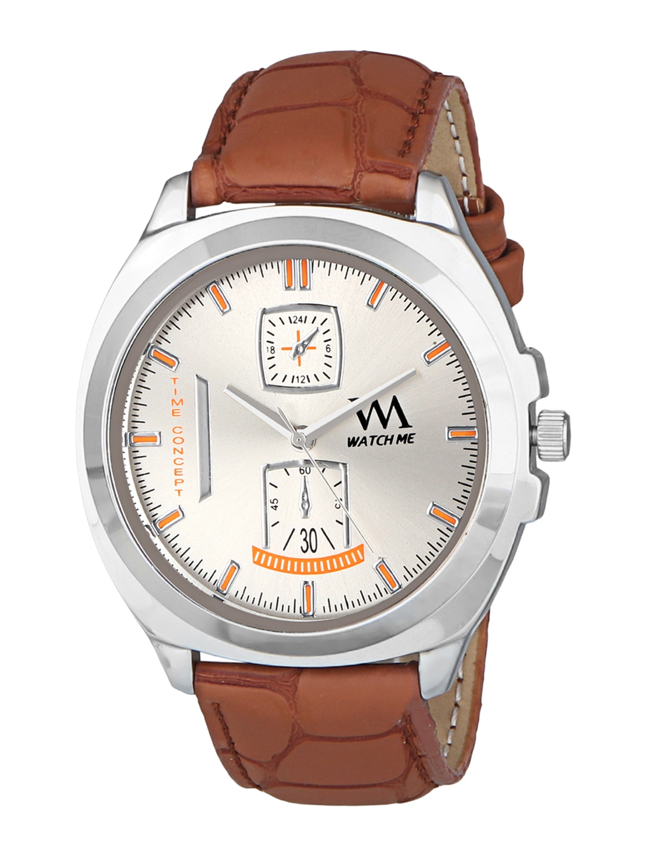 WM Men White Analogue Watch WMAL 328z