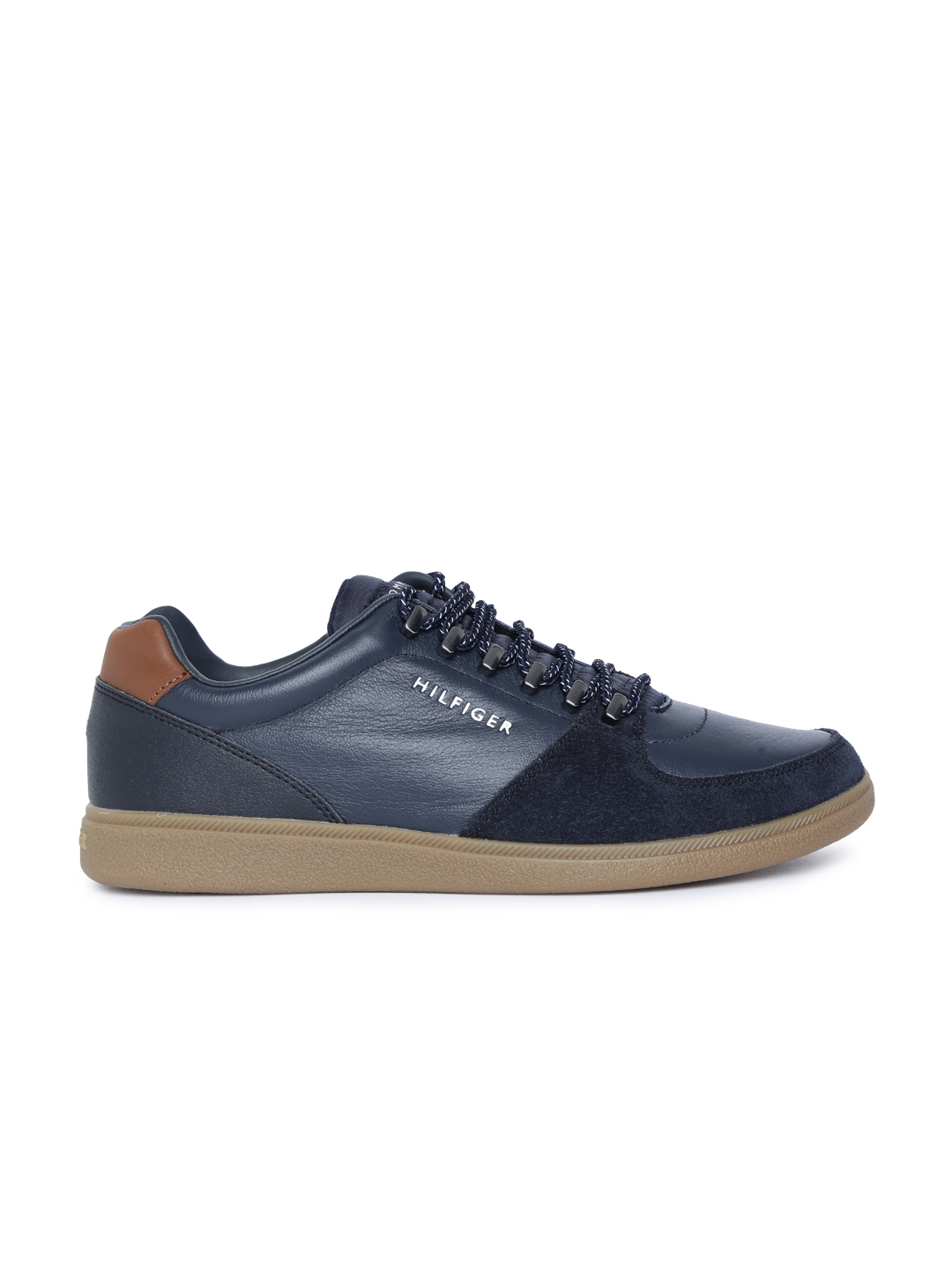 b80cbdea42a5 Buy Tommy Hilfiger Men Midnight Blue Sneakers - Casual Shoes for Men ...