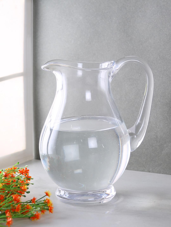 Bohemia Crystal Transparent Solid Glass Water Jug