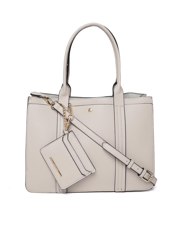 8fbd16c555a Buy ALDO Grey Solid Handheld Bag - Handbags for Women 7743236 | Myntra