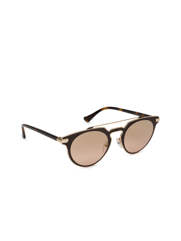 11c4838795385 Buy Calvin Klein Women Oval Sunglasses Ck 2147 210 48 S - Sunglasses ...