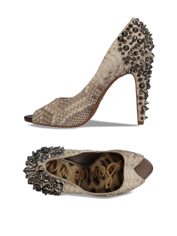 d0276b19bceb52 Buy Sam Edelman Women Beige Printed Sandals - Heels for Women ...
