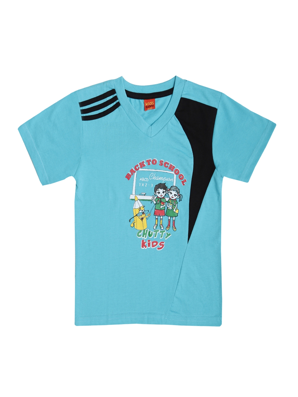 2545b303 Buy Dollar Champion Kidswear Boys Pack Of Two Printed T Shirts ...