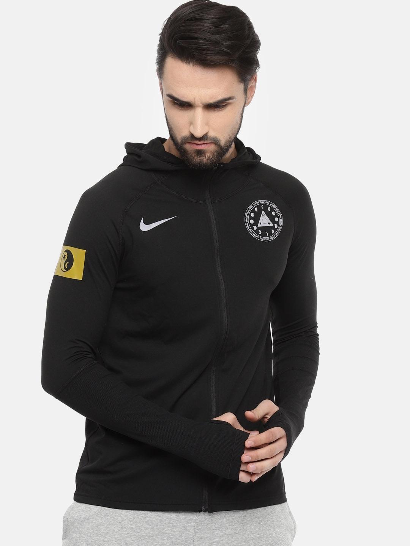 Buy Nike Men Black ELMNT SOLSTI Solid
