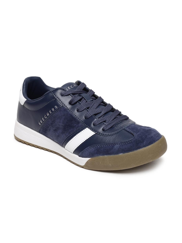 Buy Skechers Men Navy Blue Zinger