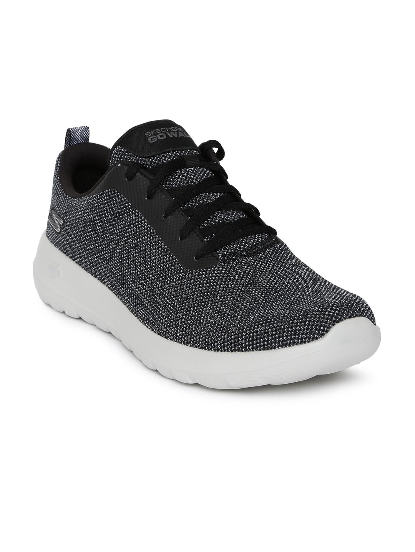 7f9e7870405 Buy Skechers Men Charcoal Grey Go Walk Max Precision Walking Shoes ...