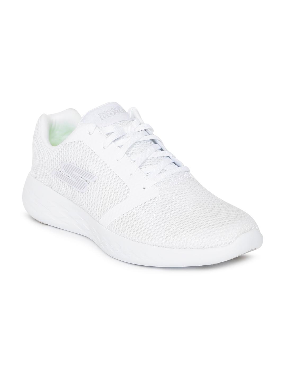 a49e3a00cec9 Buy Skechers Men White GO RUN 600 REFINE Training Shoes - Sports ...