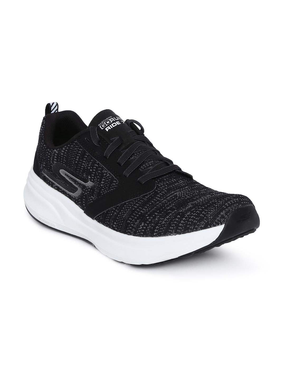 b78a874f92b Buy Skechers Women Black Go Run Ride 7 Running Shoes - Sports Shoes ...