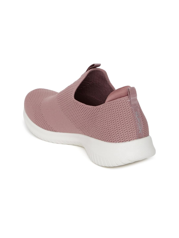 7f0d6a8fe69d Buy Skechers Women Mauve ULTRA FLEX FIRST TAKE Slip On Sneakers ...