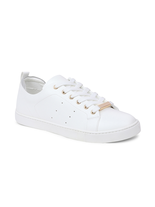Buy ALDO Women White Sneakers - Casual