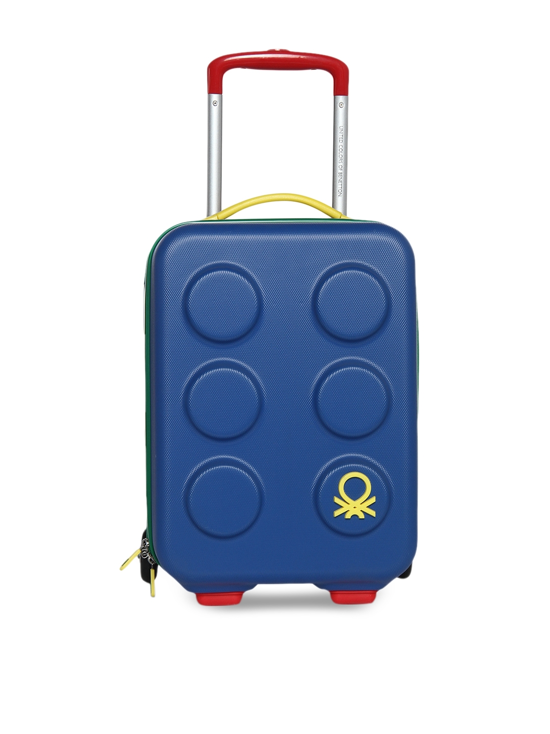 offer discounts classic styles best online Buy BENETTON KIDS Blue Cabin Trolley Suitcase - Trolley Bag for ...