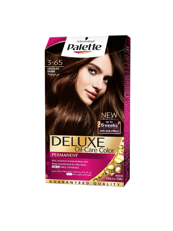 e4fc8c29ca Schwarzkopf Palette Deluxe Oil-Care Color Permanent 3-65 Chocolate Brown  115 ml