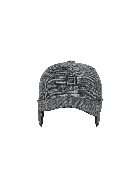 FabSeasons Unisex Grey Solid Snapback Cap