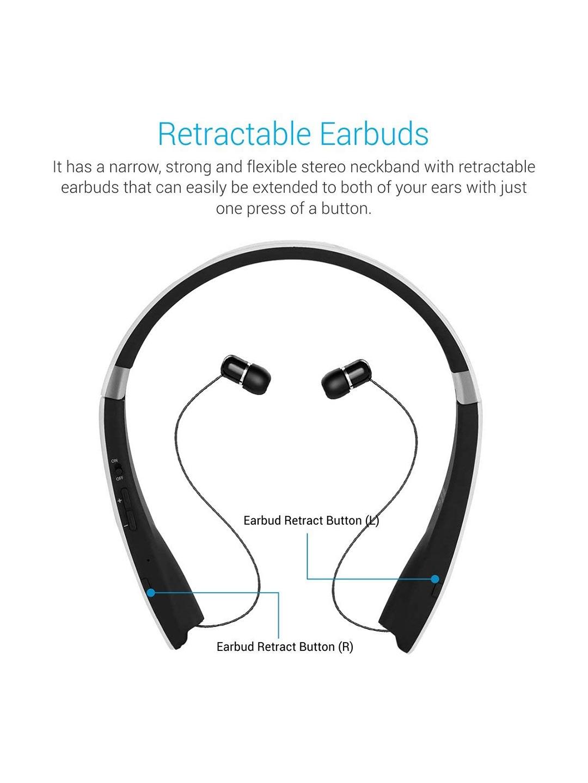 1c44b850988 Portronics White Harmonics 200 POR 930 Wireless Bluetooth Stereo Headset  With Neckband. Best Price: ...