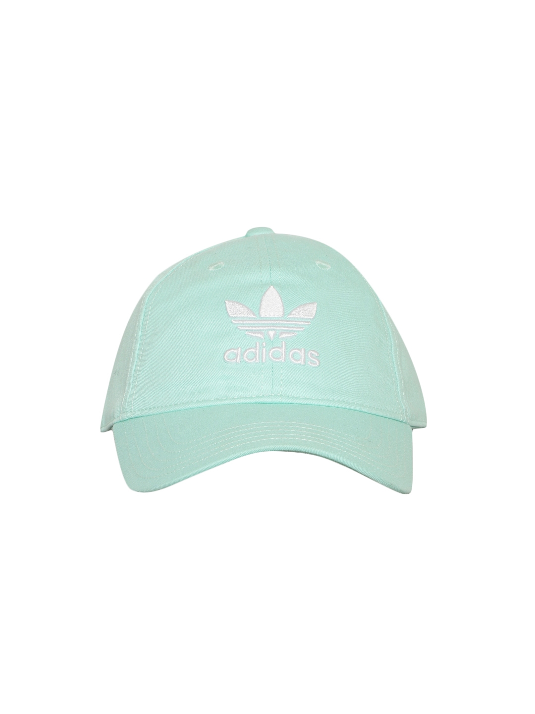 3b36e50f5cb Buy Adidas Originals Unisex Mint Green Trefoil Baseball Cap - Caps .