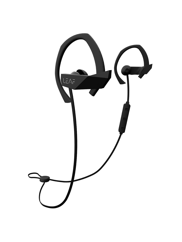 LEAF Black Sport Wireless Bluetooth Earphones With Mic LEAF Headphones
