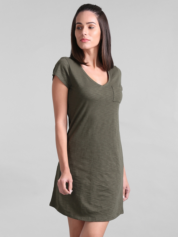 4ea1f9e47c2 Buy GAP Women's Short Sleeve Pocket T Shirt Dress - Dresses for ...