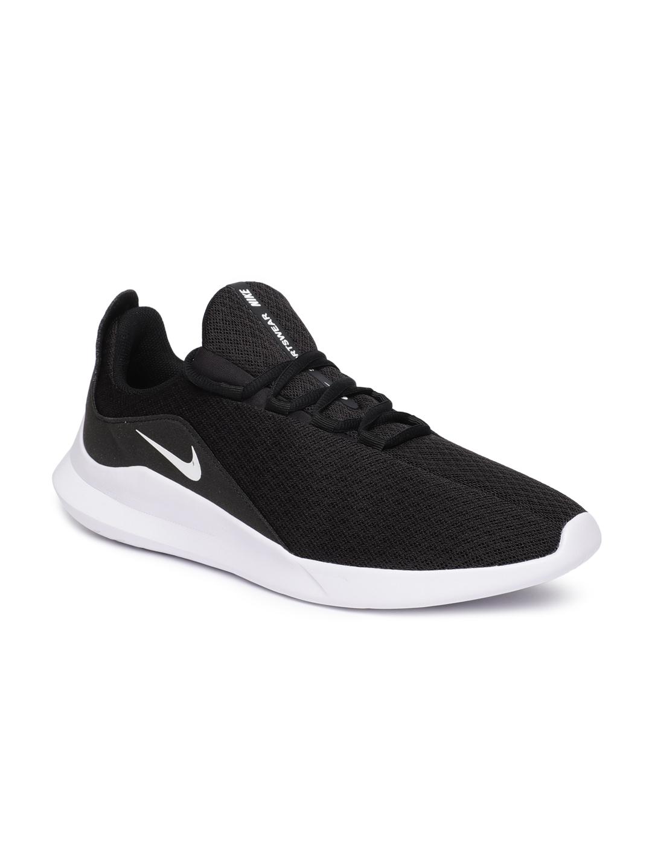 Buy Nike Men Black VIALE Sneakers