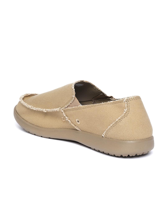 9bdc6814a Buy Crocs Men Khaki Slip On Sneakers - Casual Shoes for Men 7846849 ...