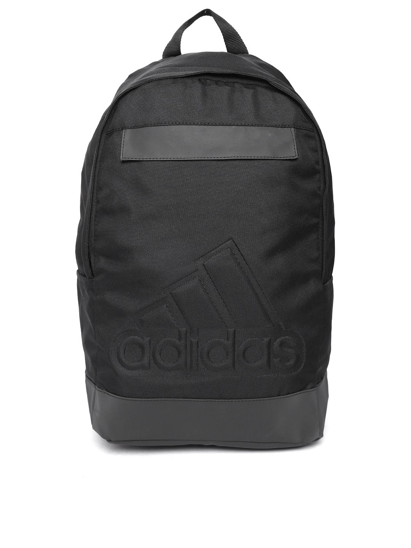 3b5b02afdad0 Buy ADIDAS Unisex Black Solid Backpack - Backpacks for Unisex ...