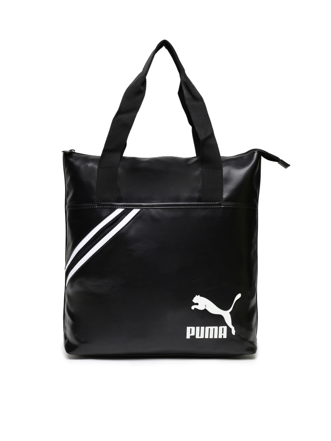 f9423e45ac23 Buy Puma Black Printed Tote Bag - Handbags for Women 7980781