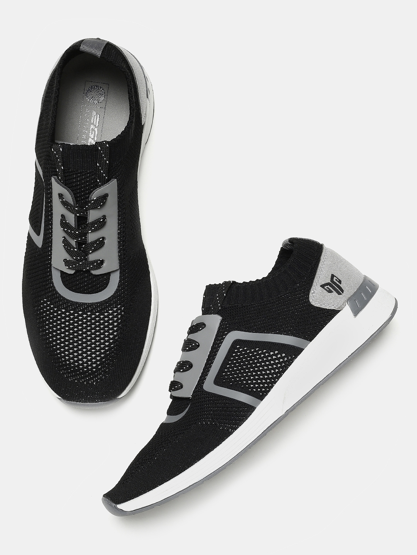 Buy 2GO Men Black Slip On Athleisure Shoes - Sports Shoes