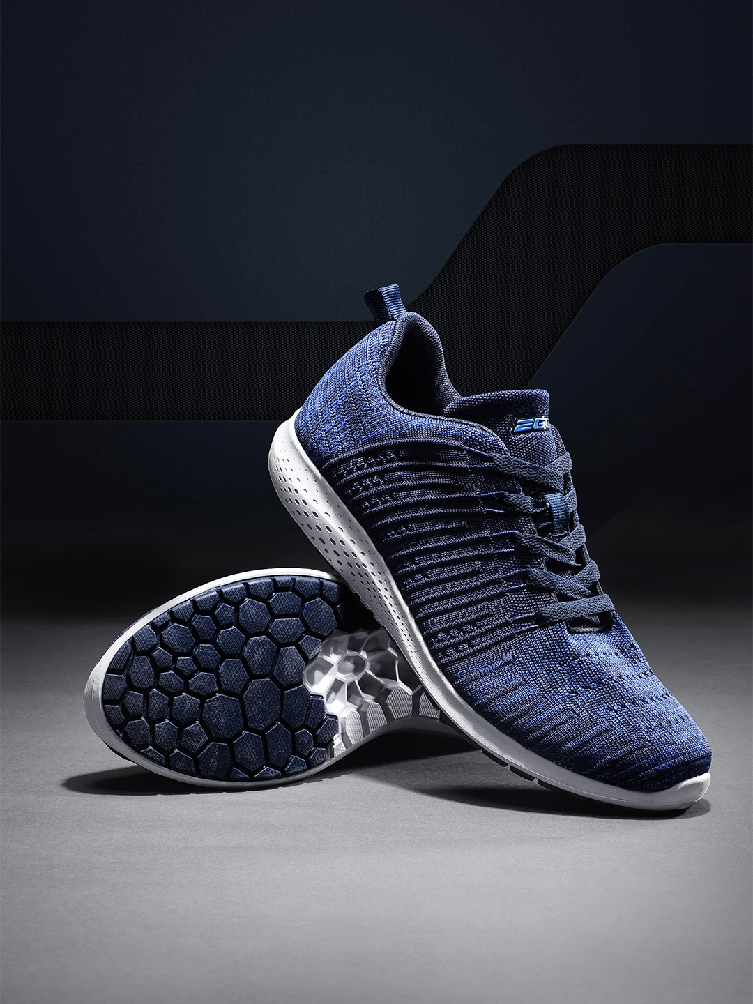 Buy 2GO Men Navy Blue Running & Training Shoes - Sports Shoes for