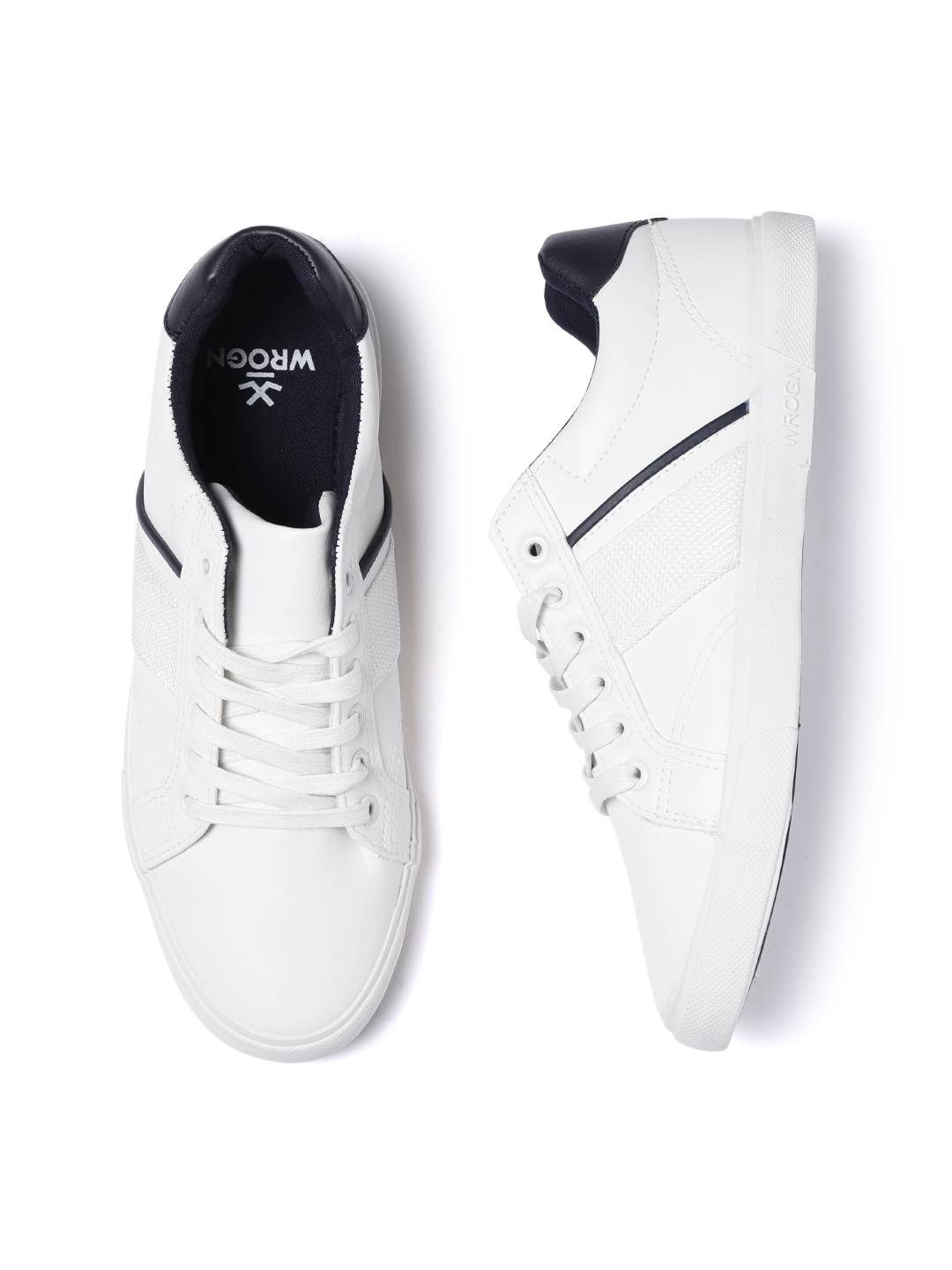 white sneakers for men myntra