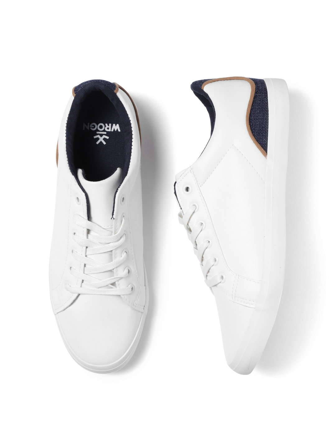 WROGN Men White Sneakers - Casual Shoes