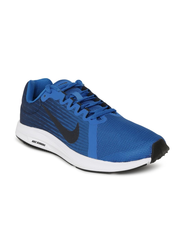0fa6402f45b0 Buy Nike Men Blue Downshifter 8 Running Shoes - Sports Shoes for Men ...
