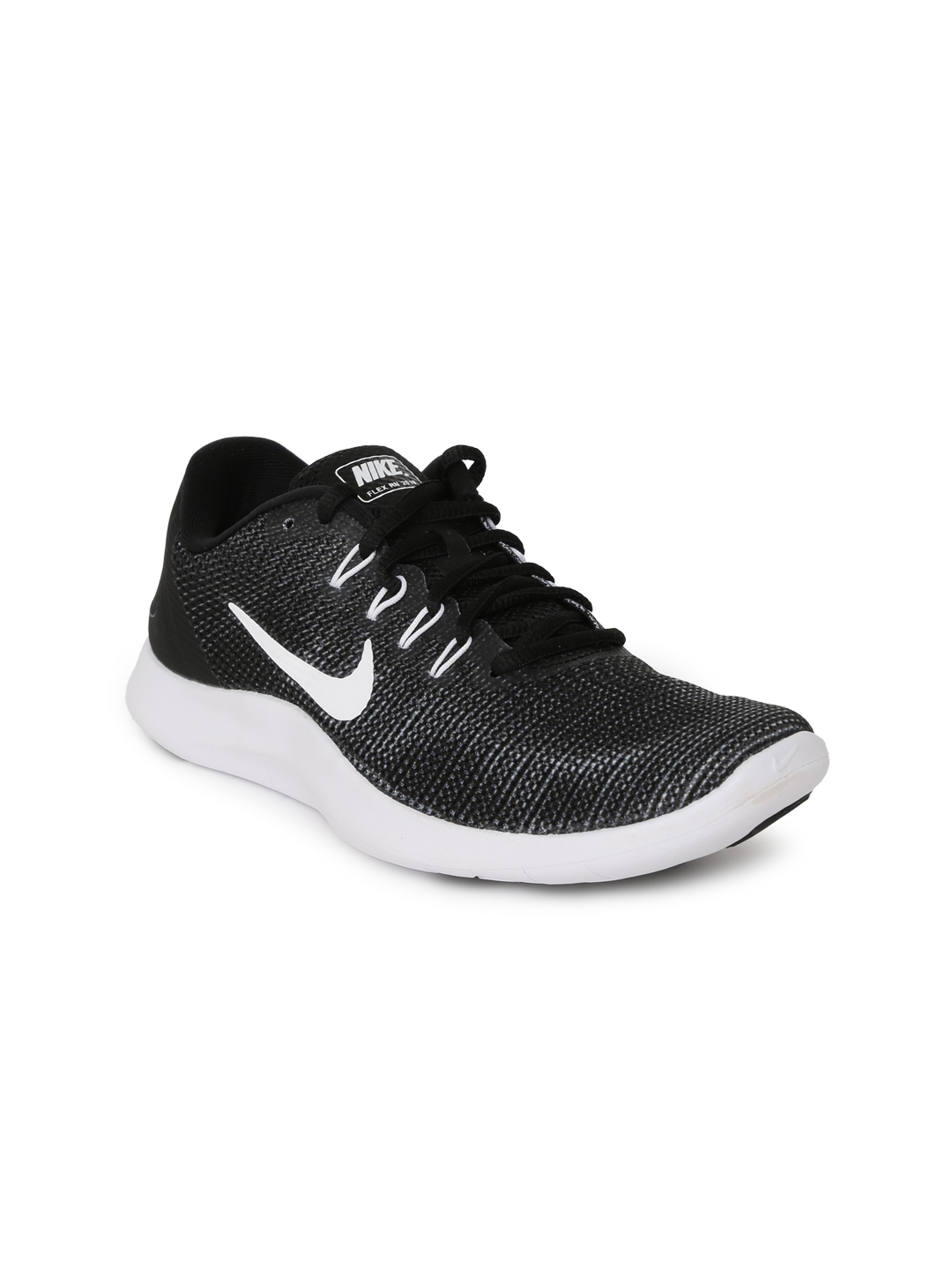 Buy Nike Women Black Flex RN 2018 Running Shoes - Sports Shoes for ... c140f7bee