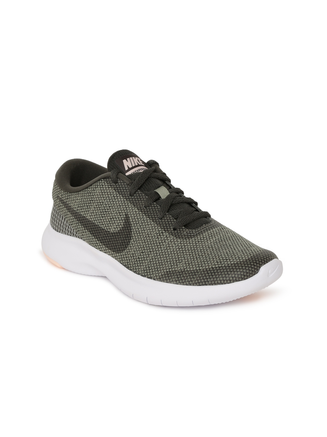 sports shoes 42acc f5f7e Nike Women Olive Green Flex Experience RN 7 Running Shoes